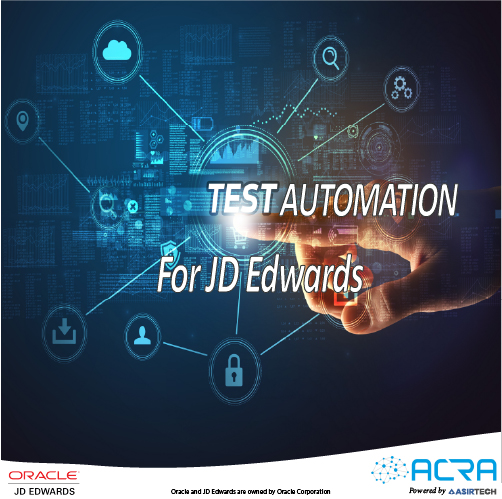 Test Automation for JD Edwards